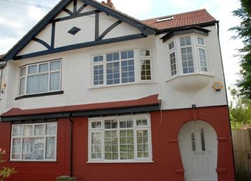 Thumbnail 4 bed semi-detached house for sale in Orpington Gardens, Edmonton