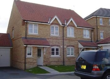 Thumbnail 3 bed semi-detached house to rent in Campion Road, Hatfield 9Fl, Hertfordshire