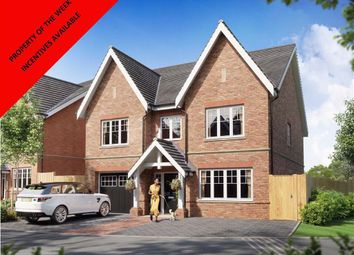 Thumbnail 4 bed detached house for sale in Cuffley Hill, Cuffley, Hertfordshire