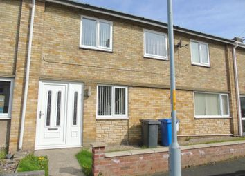 Thumbnail 3 bed terraced house to rent in South View, Pegswood, Morpeth