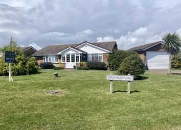 Thumbnail 3 bed detached bungalow for sale in Grand Avenue, Seaford, East Sussex