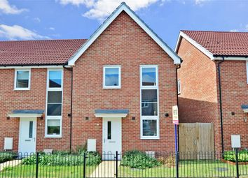 Thumbnail 3 bedroom end terrace house for sale in Jacinth Drive, Sittingbourne, Kent