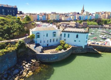 Thumbnail 3 bed flat for sale in Garden Flat, Laston House, Castle Square, Tenby
