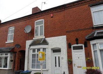 Thumbnail 2 bedroom property to rent in Ethel Street, Bearwood, Birmingham