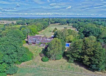 Thumbnail 6 bed detached house for sale in Setley, Brockenhurst