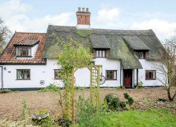 Thumbnail 5 bed detached house for sale in Rectory Lane, Bunwell, Norwich