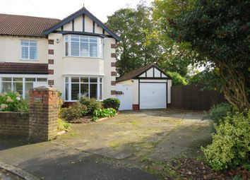 Thumbnail 4 bed semi-detached house for sale in Thornton Grove, Bebington, Wirral