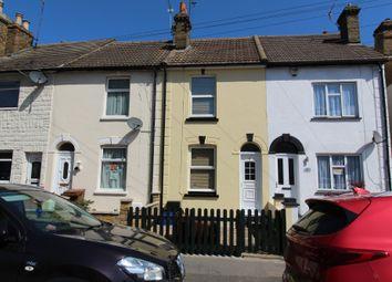 Thumbnail 2 bed terraced house for sale in Copenhagen Road, Gillingham, Kent
