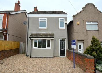 Thumbnail 3 bed detached house for sale in Williamthorpe Road, North Wingfield, Chesterfield