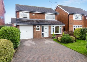 Thumbnail 4 bed detached house for sale in Brassey Way, Willaston, Nantwich