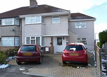 Thumbnail 4 bed semi-detached house for sale in Beckington Road, Knowle, Bristol