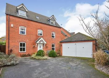 Thumbnail Detached house for sale in Highfields Park Drive, Broadway, Derby, Derbyshire