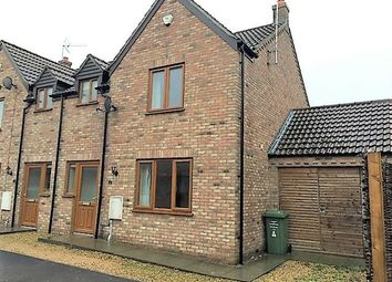 Thumbnail 2 bed semi-detached house to rent in Church Road, Walpole St. Peter, Wisbech