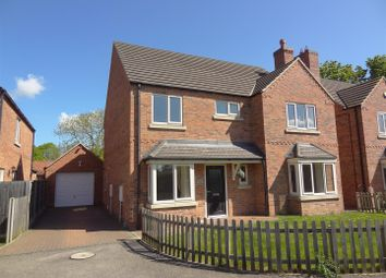 Thumbnail 4 bed detached house for sale in Chestnut Street, Ruskington, Sleaford