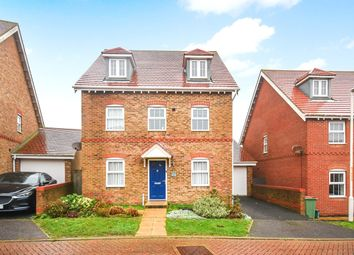 Thumbnail 5 bed detached house for sale in Trunley Way, Hawkinge, Folkestone