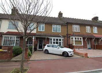 Thumbnail 3 bed terraced house for sale in Montrose Avenue, Chatham, Kent.