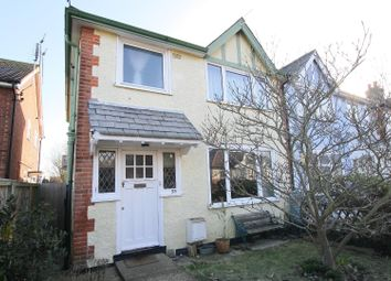Thumbnail 3 bed semi-detached house for sale in Fitzroy Road, Whitstable