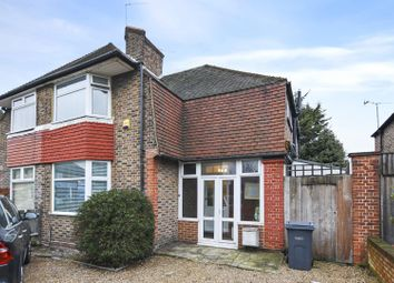 Thumbnail 3 bed semi-detached house for sale in Old Oak Road, London