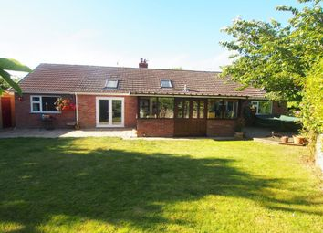 Thumbnail 5 bed detached bungalow for sale in Low Street, Crownthorpe, Wicklewood, Wymondham