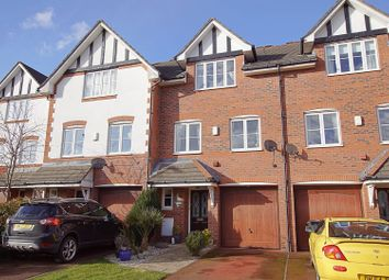 Thumbnail 3 bed town house for sale in Spires Gardens, Warrington
