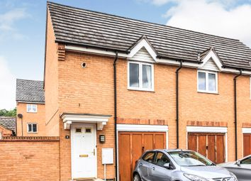 Thumbnail 2 bed property for sale in Whitebeam Close, Hampton Hargate, Peterborough
