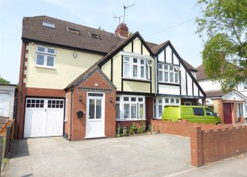 Thumbnail 4 bed semi-detached house for sale in Lewsey Road, Luton