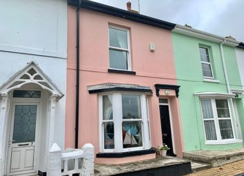 Thumbnail 2 bed terraced house to rent in Bella Vista Road, Brixham