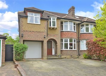 Thumbnail 5 bedroom semi-detached house for sale in Leyfield, Worcester Park