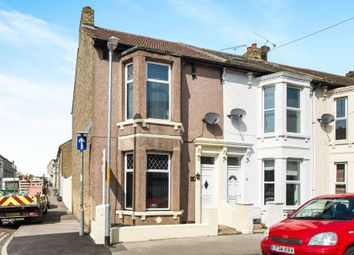 Thumbnail 3 bedroom end terrace house for sale in Alma Road, Sheerness