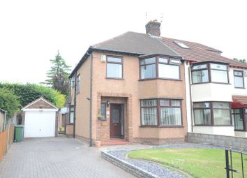 Thumbnail 3 bedroom semi-detached house for sale in South Mossley Hill Road, Garston, Liverpool