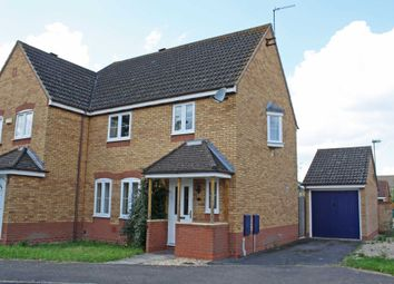 Thumbnail 3 bed semi-detached house to rent in Ottery Way, Didcot