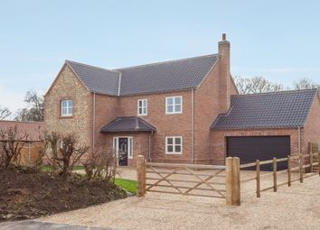 Thumbnail 4 bed detached house for sale in Church View Close, Griston, Thetford
