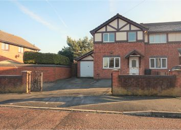 Thumbnail 3 bedroom end terrace house for sale in Houlston Road, Liverpool
