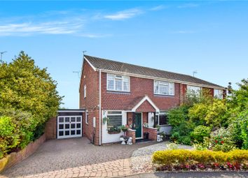 Thumbnail 4 bed semi-detached house for sale in Claremont Road, Hextable, Kent
