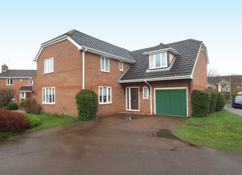 Thumbnail 4 bedroom detached house for sale in Howard Close, Thorpe St Andrew, Norwich