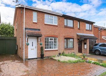 Thumbnail 3 bed semi-detached house for sale in Canterbury Drive, Perton, Wolverhampton