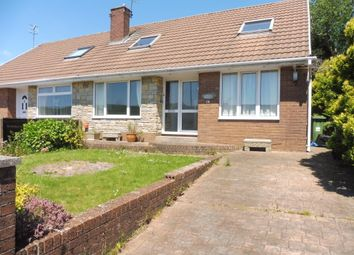 Thumbnail 3 bed semi-detached bungalow for sale in Llanover Road Estate, Blaenavon, Pontypool