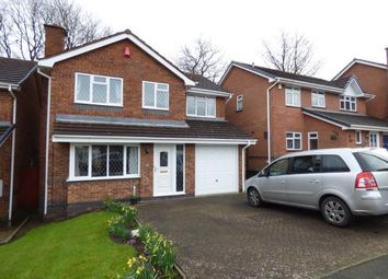 Thumbnail 4 bedroom detached house for sale in Walmley Close, Halesowen, West Midlands