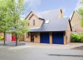 Thumbnail 4 bed property for sale in Bickleigh Crescent, Furzton, Milton Keynes, Bucks