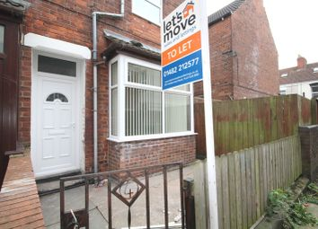 Thumbnail 1 bedroom terraced house to rent in Eastern Villas, Brazil Street, Hull