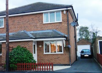 Thumbnail 2 bed semi-detached house to rent in North Avenue, Coalville, Leicester