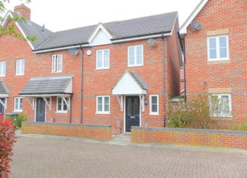 Thumbnail 3 bed semi-detached house to rent in School Close, Westergate, Chichester