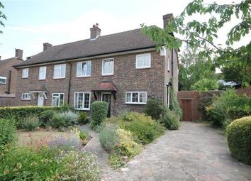 Thumbnail 3 bed semi-detached house for sale in Downland Way, Epsom