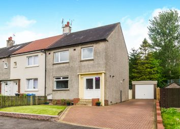 Thumbnail 3 bedroom end terrace house for sale in Easterton Avenue, Busby, Glasgow