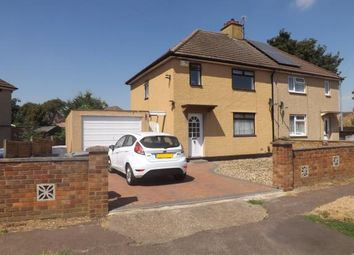Thumbnail 3 bed semi-detached house for sale in Edward Road, Biggleswade, Bedfordshire