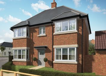 "Thumbnail 4 bedroom detached house for sale in ""The Casterton 3"" at Hill Top Close, Market Harborough"