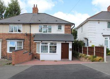 Thumbnail 3 bed semi-detached house for sale in Tottenham Crescent, Kingstanding, Birmingham