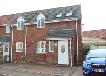 Thumbnail 2 bed semi-detached house for sale in Aldeburgh Gardens, Highwoods, Colchester