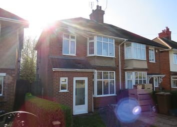 Thumbnail 3 bed semi-detached house for sale in Trevor Crescent, Duston, Northampton