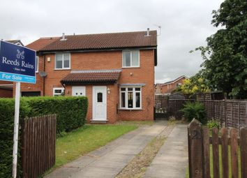 Thumbnail 2 bed semi-detached house for sale in Ryecroft, Strensall, York